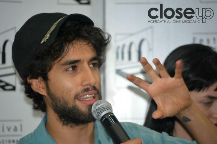 Emiliano Rocha Minter, director de Tenemos la carne (Foto: Amelia Rojas)