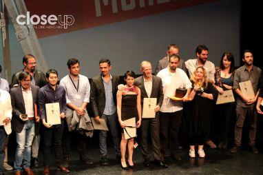 Los galardonados en la clausura del 14 FICM (Foto: Itzuri Sánchez)