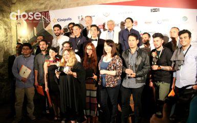 Cineastas galardonados en la edición 14 del Festival Internacional de Cine de Morelia (Foto: Itzuri Sánchez)