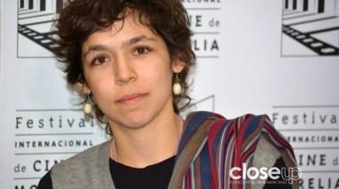 María Deschamps actúa en Tiempo sin pulso, largometraje mexicano en competencia (Foto: Amelia Rojas)