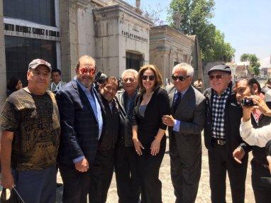 Mario Moreno Ivanova y su ex pareja Tita Marbez, así como algunos amigos y el productor Juan Osorio estuvieron presentes en esta ceremonia. Foto: Close Up