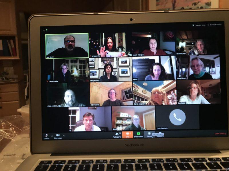 Board Meeting on Zoom