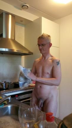 Paul Z. Washing Up