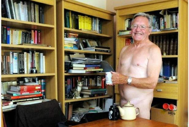 Stuart Haywood is hoping to teach others about his unusual way of life
