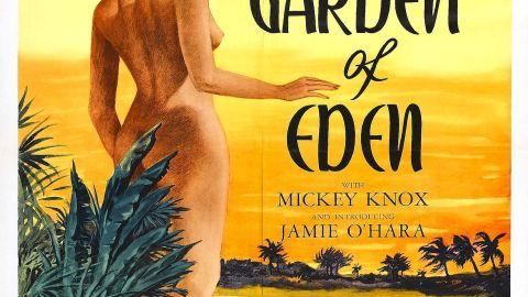 "Poster for the movie ""Garden of Eden"""