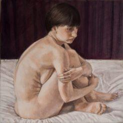 Nina, 60cm x 60cm, oil on canvas