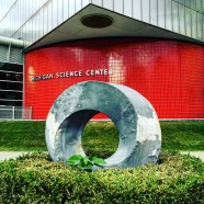 Michigan Science Center needs some gray paint, y'all