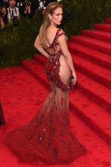 J. Lo in Versace
