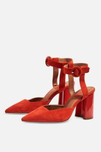 Topshop red shoes