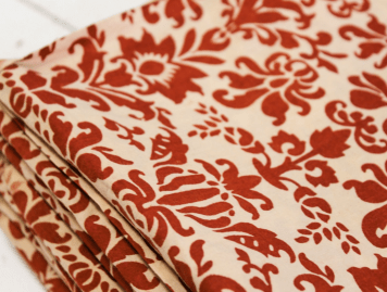 Cloth House Damask Printed Fabric