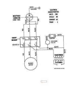 Figure 423 Wiring diagram for water heater