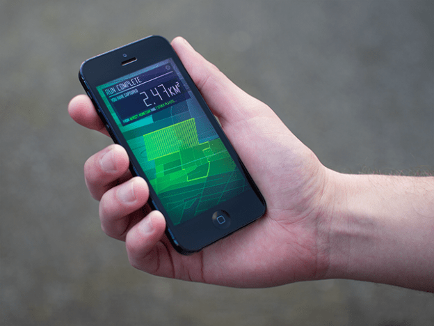 AR fitness game – Run an Empire iphone app {kickstarter}