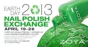 Zoya Earth Day Exchange 2013