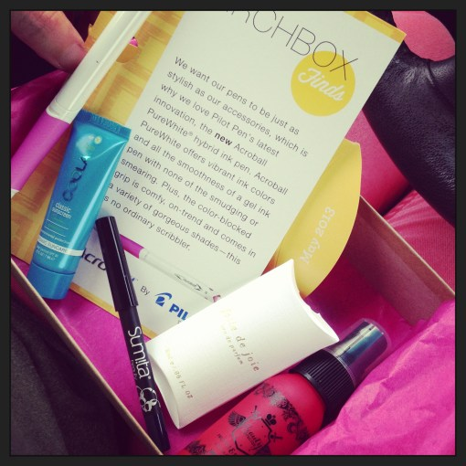 May Birchbox 2013 – unboxing