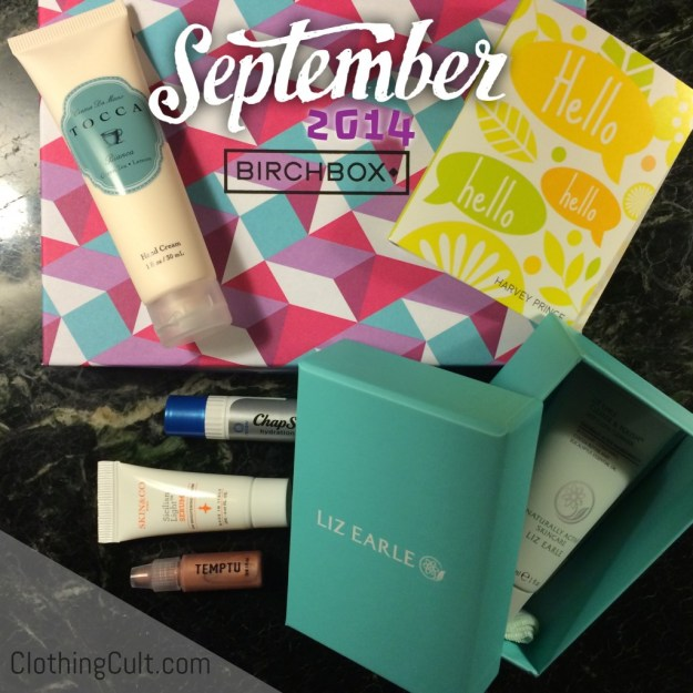 Birchbox unboxing September 2014
