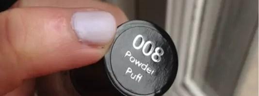 """Revlon """"powder puff"""" nail polish"""
