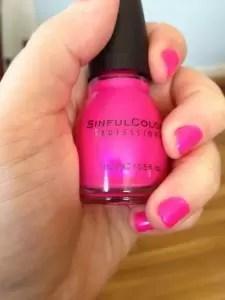 """Sinful Colors in """"Bikini"""""""