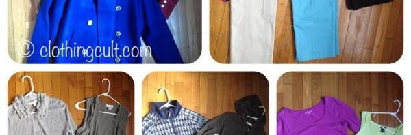 Consignment Store Clothing Haul – $20 Bag Sale