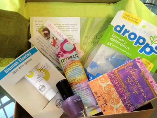 My April Birchbox 2012