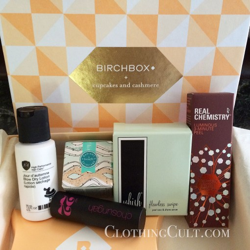 My Birchbox May 2015 – and EWG scores