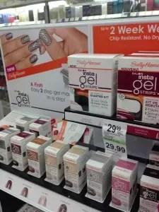 Sally Hansen Salon Insta-Gel Strips Starter Kit at Walgreens
