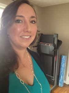 What I wore today breezy teal