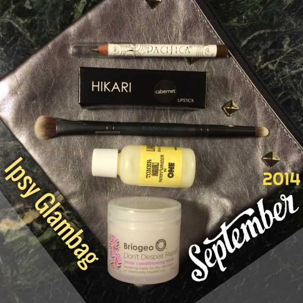 Ipsy glambag September 2014