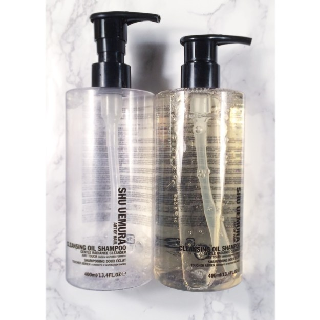 Shu Uemura Cleansing Oil Shampoo empties • ClothingCult.com