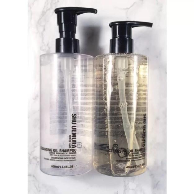 Shu Uemura Cleansing Oil Shampoo empties • ClothingCult.com