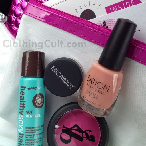 Ipsy bag April 2013 – product overview & review