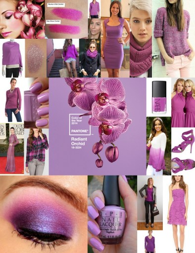 Pantone Color of the year 2014 – radiant orchid