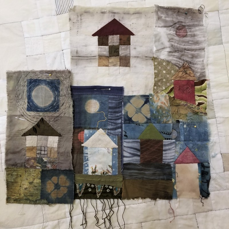 community is like patchwork, in perspective.