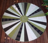 green-circular-quilt-finished