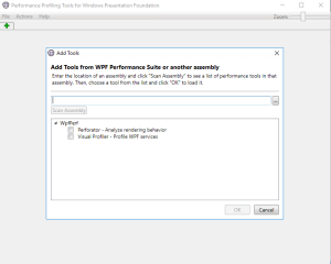 Microsoft WPF performance suite