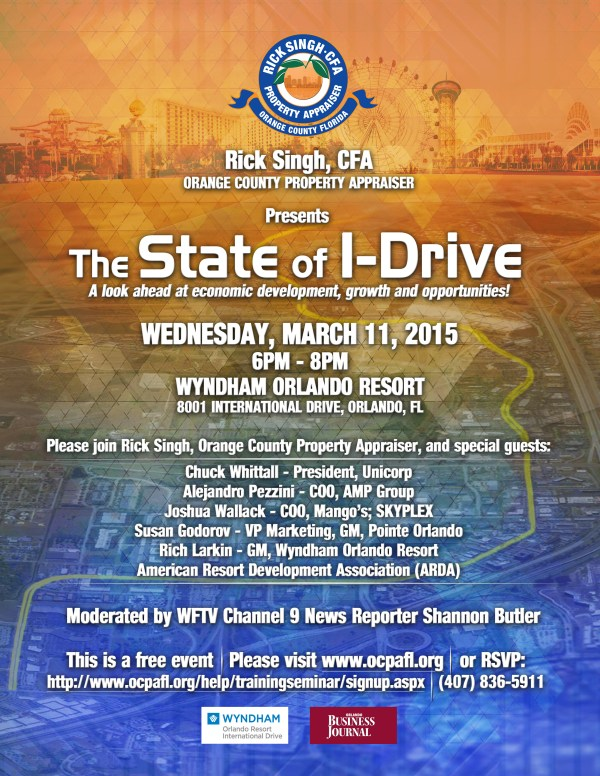 The State of I-Drive with Orange County Property Appraiser ...