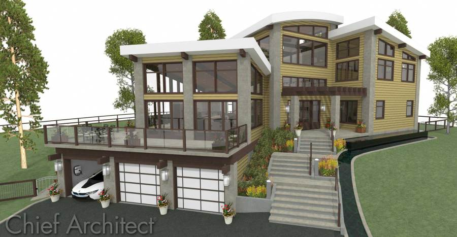 Chief Architect Home Design Software   Samples Gallery Breckenridge
