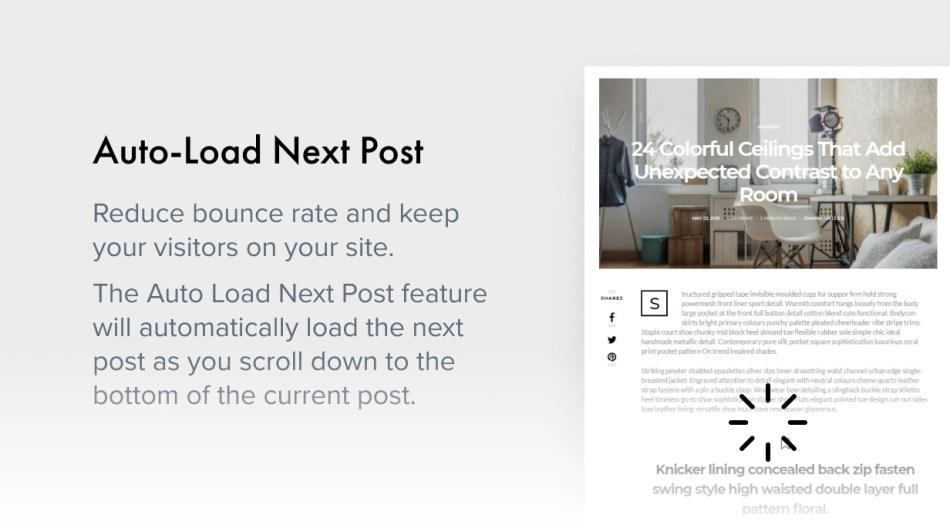 Auto-Load Next Post