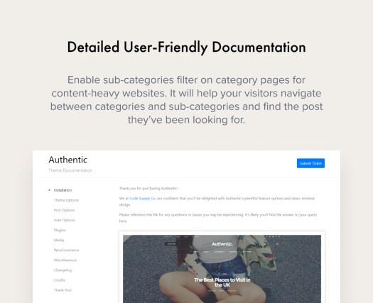 Friendly Documentation