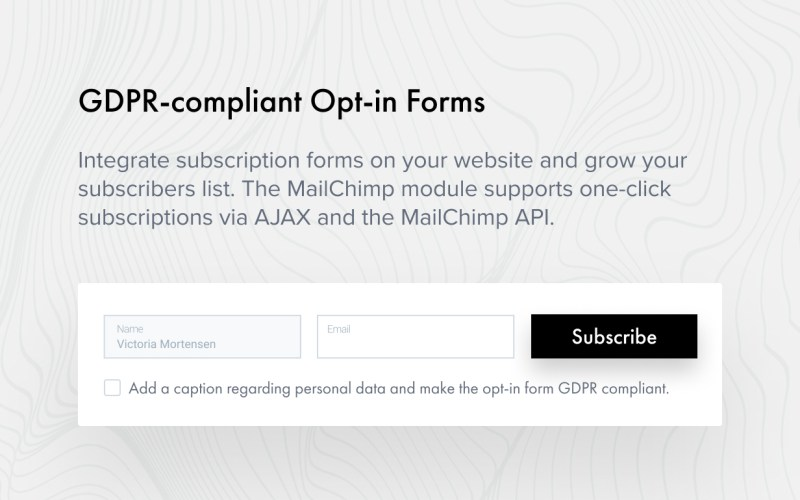 Opt-In Forms