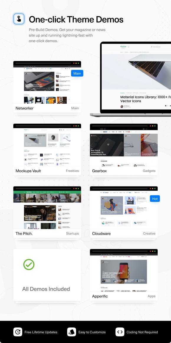 Networker - Tech News WordPress Theme with Dark Mode - 2