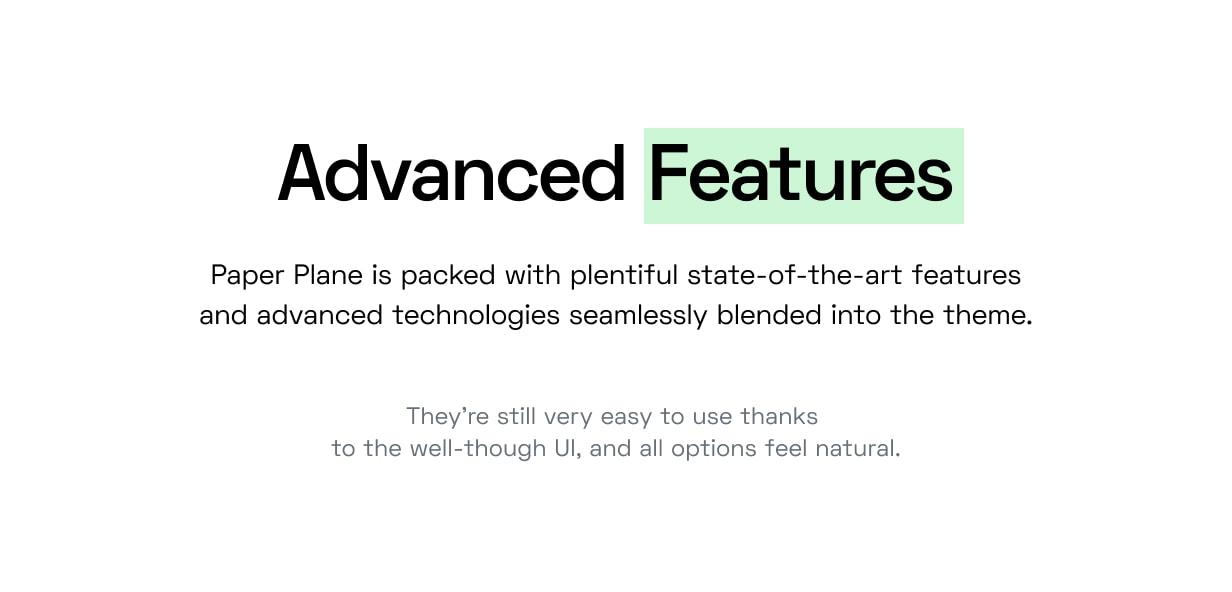 Paper Plane - Easy to Use WordPress Blog Theme - 9