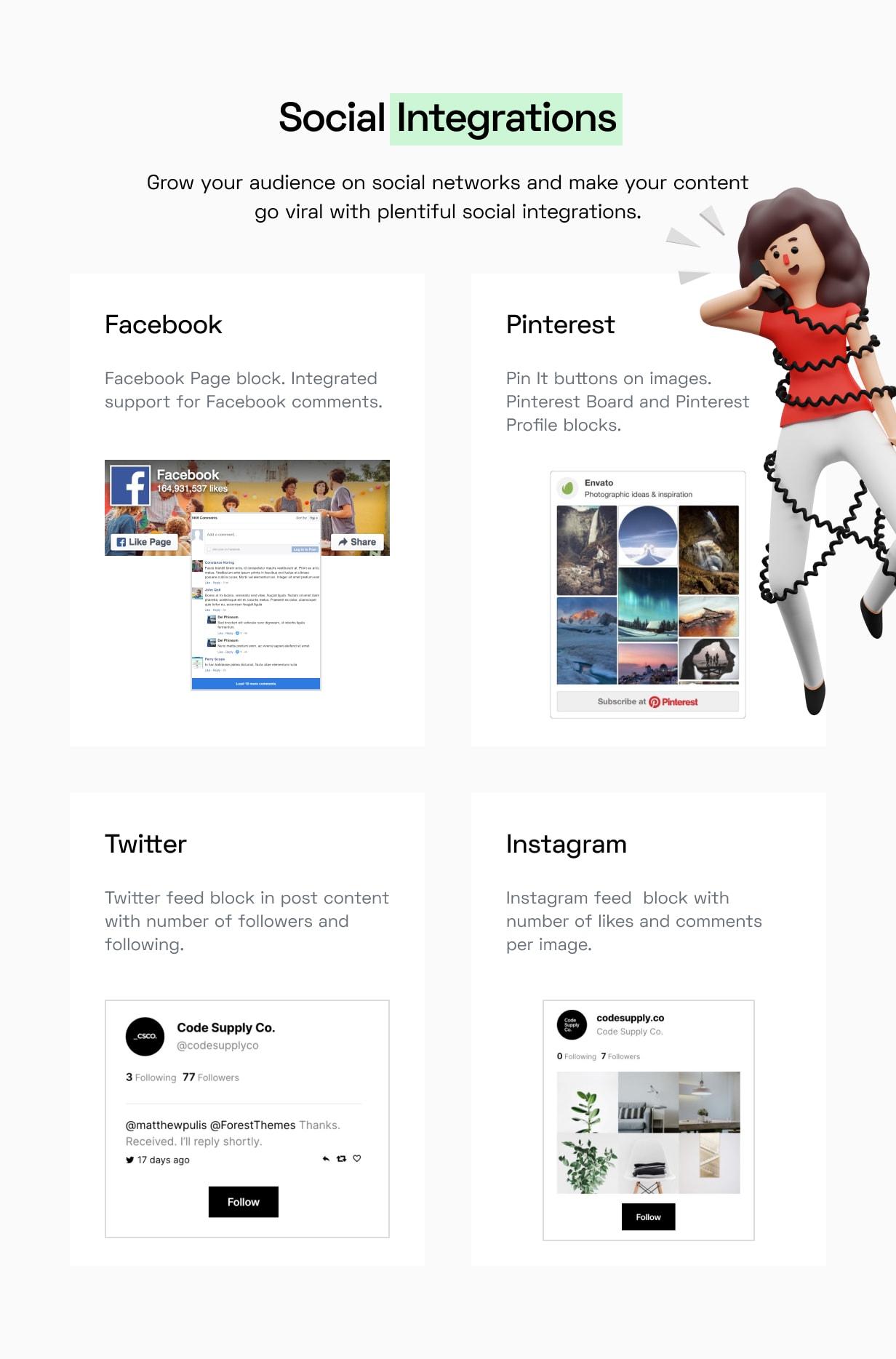 Paper Plane - Easy to Use WordPress Blog Theme - 21