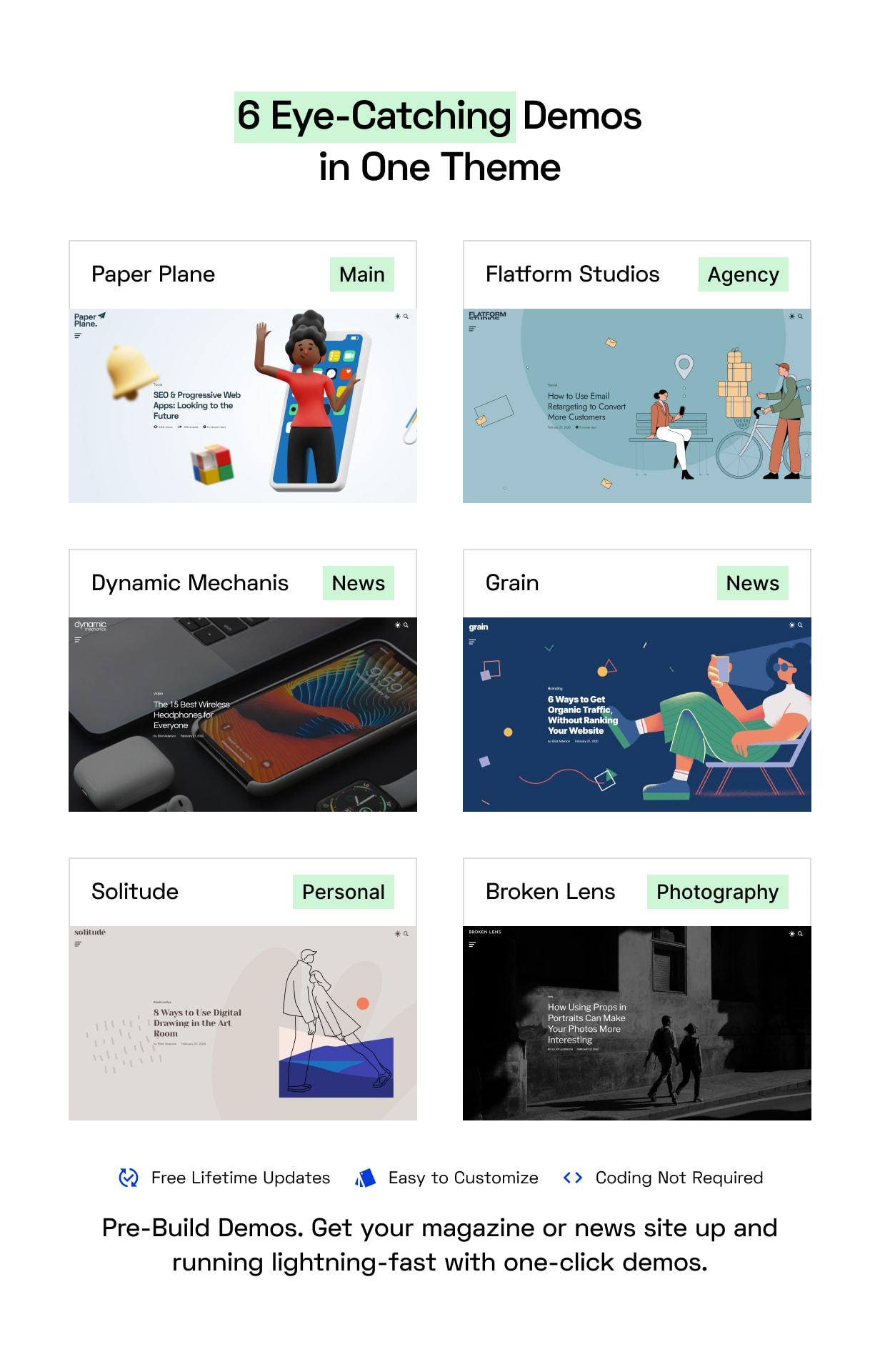 Paper Plane - Easy to Use WordPress Blog Theme - 2