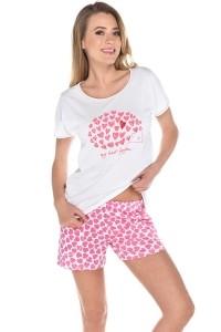 Poze Pijama de dama Amor kr.r. kr.sp.