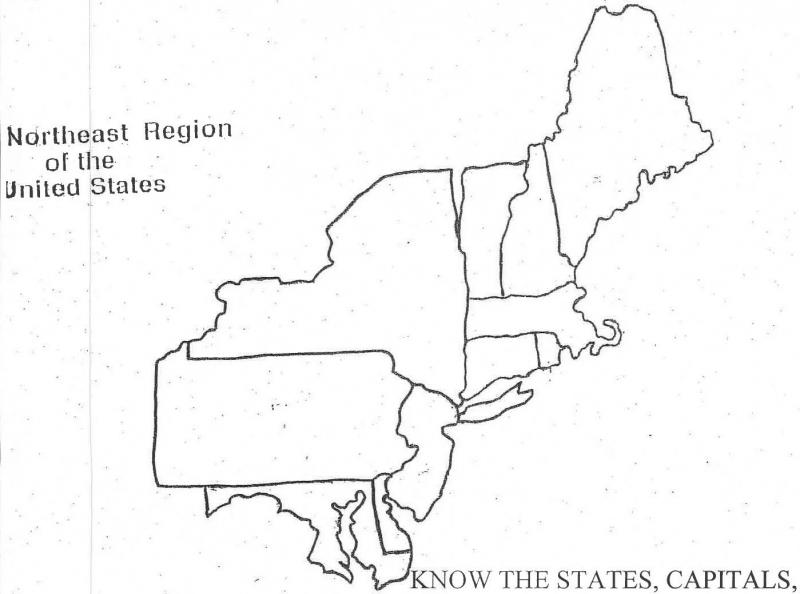 Or that that rhode island has the least populous capital in the country? Map Quiz States Capitals Northeast States Of Usa