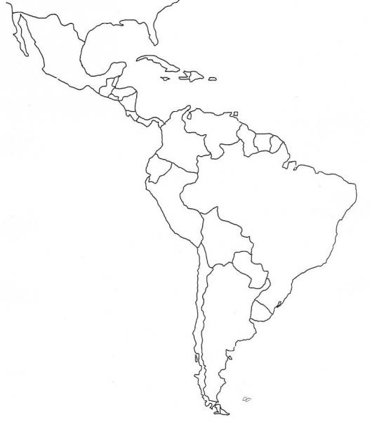 This blank map of the 50 us states is a great resource for teaching, both for use in the classroom and for homework. Print Map Quiz Practice Activity Map Of Latin America Geography