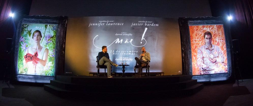 Coletiva-de-Imprensa-Foto-de-Mauricio-Santana Darren Aronofsky fala sobre 'Mãe!' à imprensa brasileira