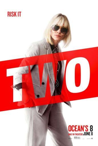 2 Oito Mulheres e um Segredo   Personagens ganham novos pôsteres individuais; Confira!