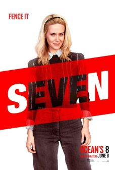 7 Oito Mulheres e um Segredo | Personagens ganham novos pôsteres individuais; Confira!