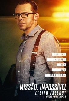 MI6_INTL_CHAR_DGTL_1_SHT_PEGG_IMAX_BRA Missão: Impossível – Efeito Fallout | Paramount Pictures divulga cartazes dos personagens; Confira